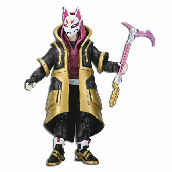 """Fortnite Drift Solo Mode 4"""" Figure Pack By Jazwares Collectible Toy +8"""