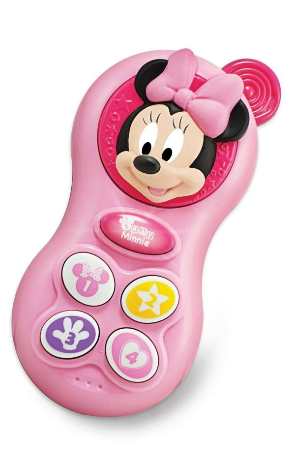 Winfun Disney Baby Minnie Mouse Baby Fun Phone Craetive Sounds Effect Toy
