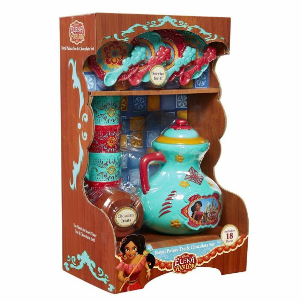 Elena of Avalor Royal Palace Tea with Chocolate Set Included 18 Pieces