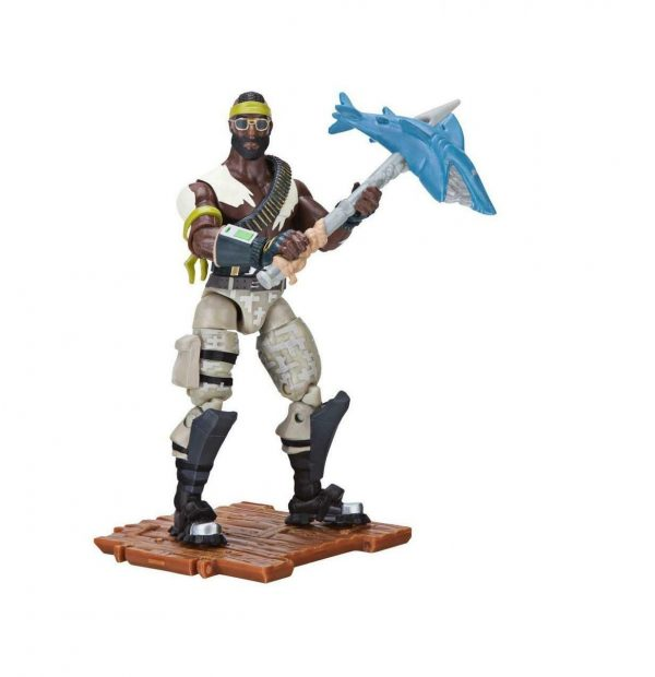 """Fortnite Bandolier Solo Mode 4"""" Figure Pack By Jazwares Collectible Toy +8"""