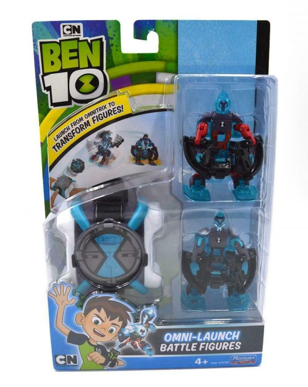 Ben10 Omni Launch Battle Figures Heatblast XLR8 Toy Gift Boys Watch