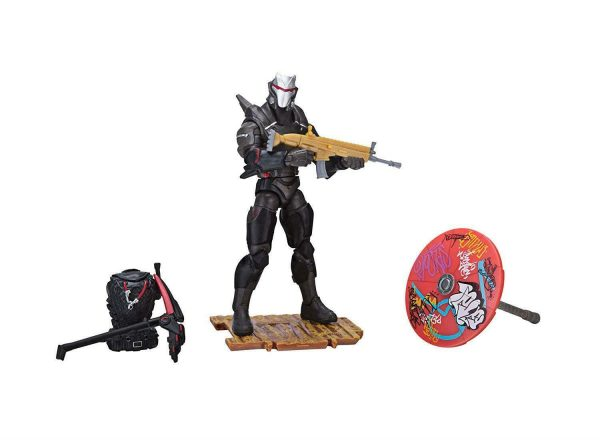"""Fortnite Omega Early Game Survival Kit 4"""" Figure Pack By Jazwares Toy +8"""
