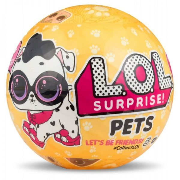 1 Ball Surprise Lol Outrageous Littles Series 3 – L.O.L Pets Yellow