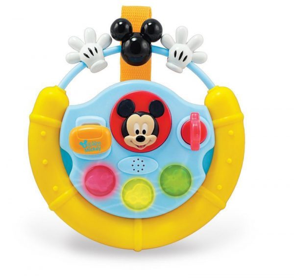 Disney Baby Mickey Mouse Baby Fun Driver Sound Effects Toy