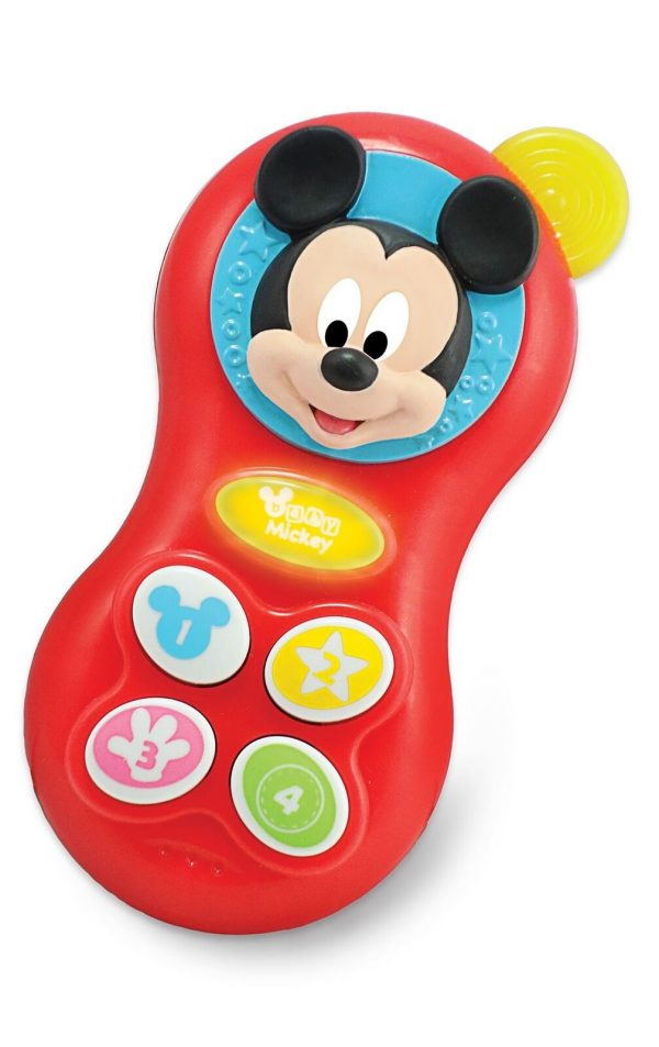 Winfun Disney Baby Mickey Mouse Baby Fun Phone Craetive Sounds Effect Toy