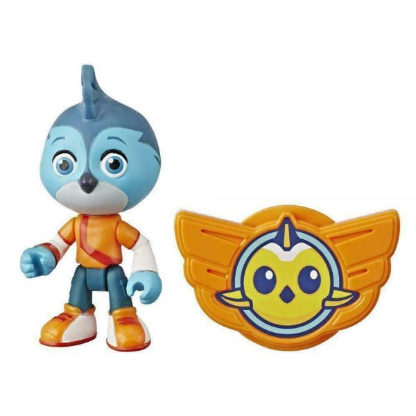Nick. JR Top Wing Swift Figure Doll with Badge Toy 7cm