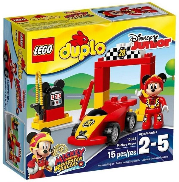 LEGO Duplo 10843 Mickey Racer Construction Toy