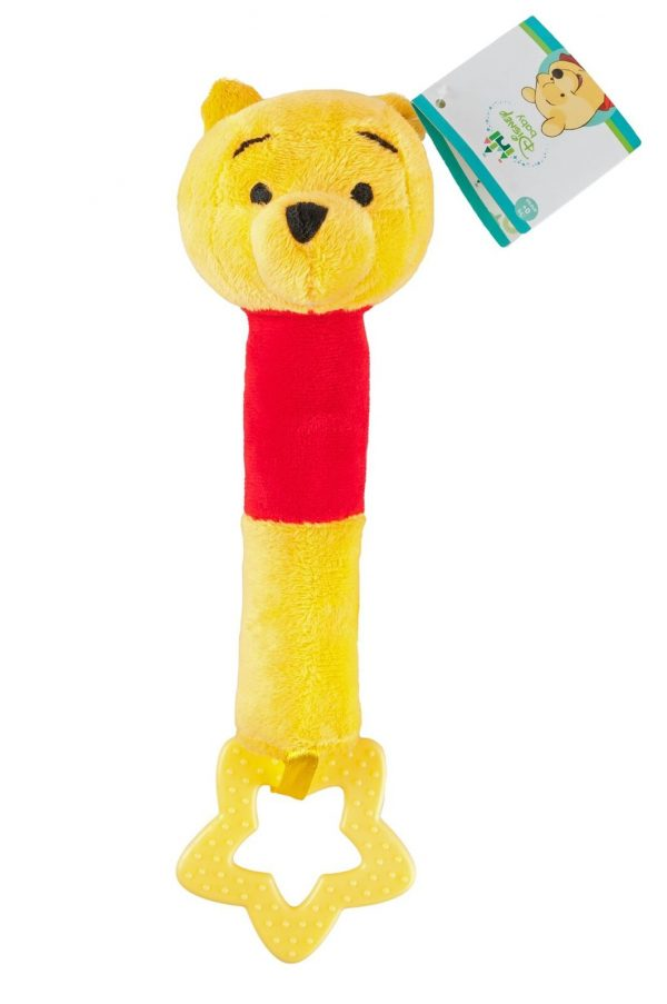 Disney BABY Winnie the pooh Biter baby Stuffed Doll squeeze soft