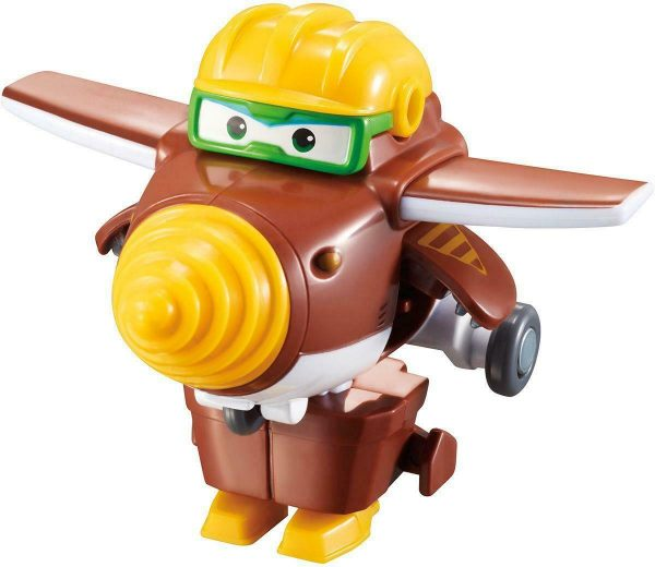 """Super Wings Mini Todd Transform-a-Bots Toy Kids 5cm/2"""" +3 years"""