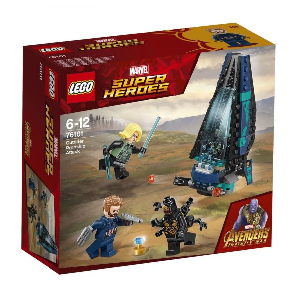 LEGO Marvel Super Heroes Outrider Dropship Attack 76101 124 pcs