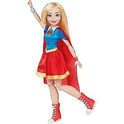 """Dc Super Hero Comics Supergirl Action Pose Figure Doll Girls Toy 18"""""""