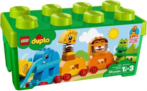 Lego Duplo My First Animal Brick Box Construction Game For Toddlers