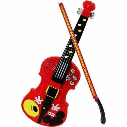 Disney Mickey's Concert Master Violin & Bow Musical Toy