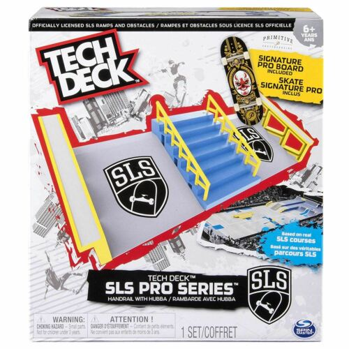 Tech Deck SLS Pro Series Handrail With Hubba and Signature Pro Board