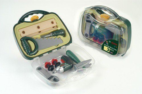 BOSCH Exclusive ToyToolcase With Battery-operated Screwdriver by Klein