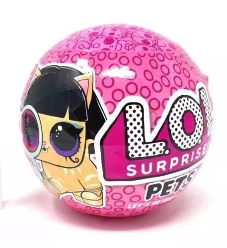 1 Ball Surprise Lol Outrageous Littles Eye Spy Series – L.O.L Pets Pink