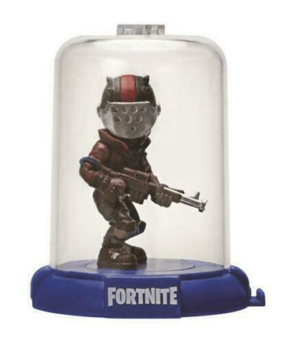 """Fortnite Domez Rust Lord Figure Enclosed Display Case Collection 3"""" Series 1"""