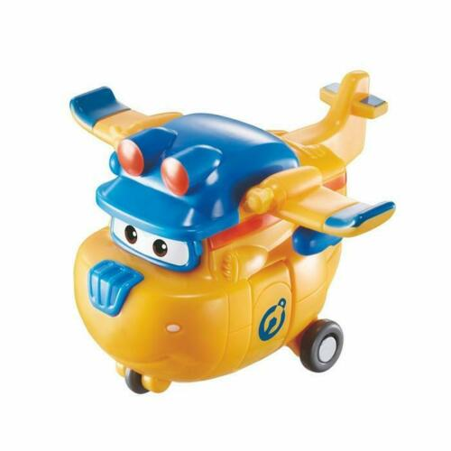 """Super Wings Mini Donnie Transform-a-Bots Toy Kids 5cm/2"""" +3 years"""