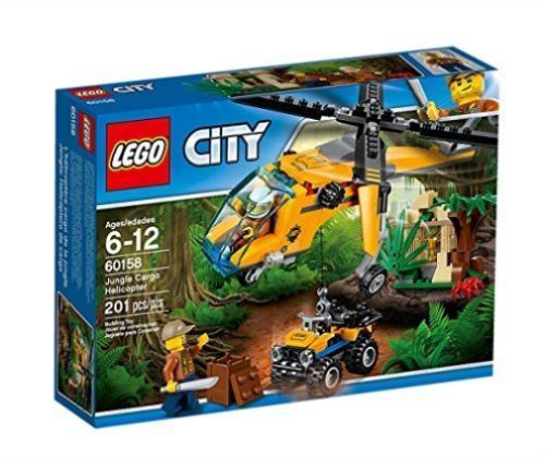 LEGO 60158 Jungle Cargo Helicopter Construction Toy 5 -12 years