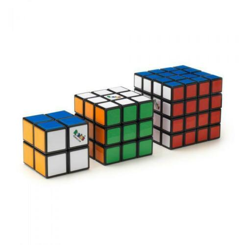 Rubik's Tiled Trio Cubes Set 4×4,3×3 & 2×2 100% Official -Used