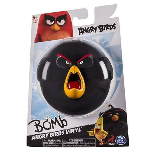 Angry Birds Bomb Vinyl Black Figure Collection By Spin Master 4""